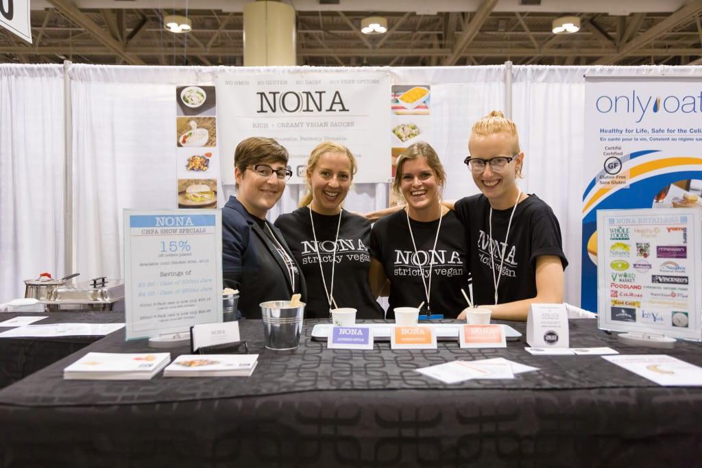 Team NONA Vegan at CHFA East 2015